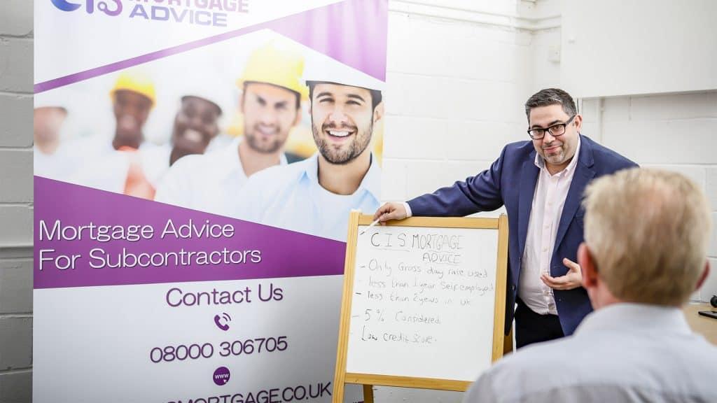 CIS Scheme, Expert Mortgage Advice for CIS Subcontractors